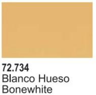 Vallejo Paints  Vallejo Game Color 17ml Bottle Bone White Game Air VLJ72734