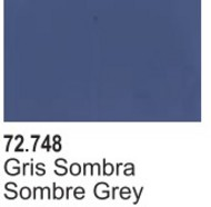Vallejo Paints  Vallejo Game Color 17ml Bottle Sombre Grey Game Air VLJ72748
