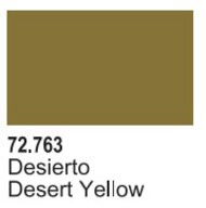 Vallejo Paints  Vallejo Game Color 17ml Bottle Desert Yellow Game Air VLJ72763
