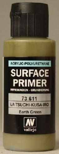 Vallejo Paints  Primer 60ml Bottle IJA Earth Green (Early) Surface Primer VLJ73611