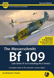 Airframe & Miniature 11: The Messerschmitt Bf.109 Late Series including Z Series #VLWAM11