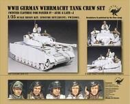 WW2 German Wehrmacht Tank Crew Figure Set #VLK35001VW