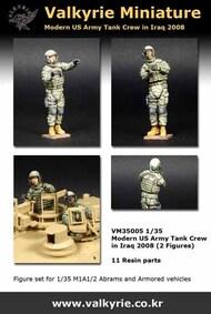 Modern US Army Tank Crew in Iraq 2008 (2 Figure Set) #VLKVM35005