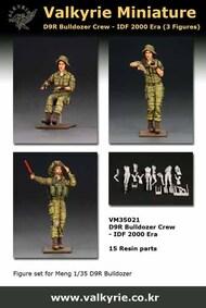 IDF D9R Bulldozer Crew 2000 Era (3 figures) #VLKVM35021