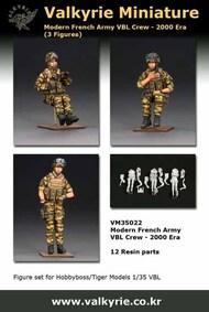 Modern French Army VBL Crew (3 figures) #VLKVM35022