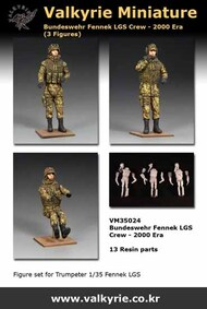 Bundeswehr Fennek LGS Crew 2000-Era (3 figures) #VLKVM35024