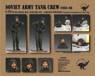 Soviet Army Tank Crew 1950-60 (2 Figure/1 Bust Set) #VLKVM35026