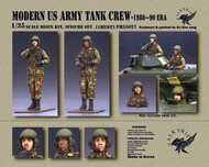Modern US Army Tank Crew 1980-90 Era (2 Figure/1 Bust Set) #VLKVM35027