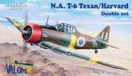 North-American T-6 Texan/Harvard (camouflaged) #VAL14410