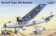 Bristol Bombay Type 130 includes resin parts (as pictured) #VAL72055