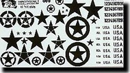 Verlinden Productions  120mm US Type Stars (white) for WW II VPI0866