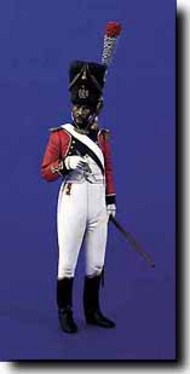 Verlinden Productions  120mm Swiss Regt. Grenadier Officer VPI1246