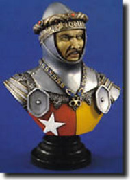 Verlinden Productions  200mm Richard De Vere, Earl of Hoxford Bust VPI1326