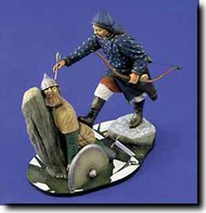 Verlinden Productions  120mm Mongol Cavalryman & Russian Warrior VPI1382