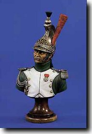 Verlinden Productions  200mm Napoleonic Dragon Officer Bust VPI1482