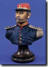 Verlinden Productions  200mm French Army Officer Bust - Ca.1900 VPI1513