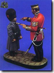 Verlinden Productions  120mm Drill Sergeant & Pfeifer Boy Coldstream Guard Ca.1875 VPI1520