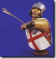 Verlinden Productions  1/5 English Longbowman Ca.1450 Bust VPI1552