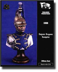 Verlinden Productions  1/12 Empress Dragoon Trumpeter Bust VPI1866