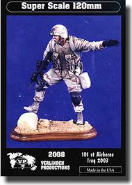 Verlinden Productions  200mm USA 101st Airborne Iraq w/ Base VPI2008