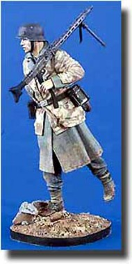 Verlinden Productions  1/16 Lufwaffe Field Division Machine Gunner VPI2053