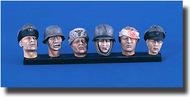 Verlinden Productions  120mm German Heads WWII VPI2409