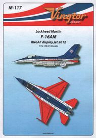 Vingtor - late sheets  1/32 General-Dynamics F-16AM - RNoAF display jet 2012 VTHM117