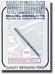 "Waldron Accessories  1/48 No.45 (.082) for 4"". Instrument WR0045"