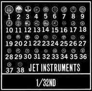 Waldron Accessories  1/24 Jet Aircraft Instruments WR0051