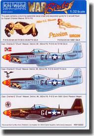 Warbird Decals  1/32 P-51D Mustang WBS132003