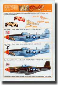 Warbird Decals  1/144 P-51D Passion Wagon Early/Late War & Camouflaged Variations WBS144004