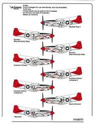 Warbird Decals  1/24 P-51D Mustang Tuskegee Airmen WBD24004