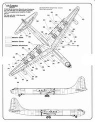 B-36 Peacemaker Common Stencils & Insignias #WBDSP011