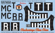 Kits-World  1/32 P-51D Chattanooga Choo Choo, Sneebo Barbara (D)<!-- _Disc_ --> WBS132033