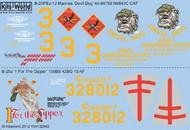 Kits-World  1/32 B25J Devil Dog, 1 For the Gipper (D)<!-- _Disc_ --> WBS132042