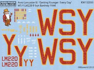 Kits-World  1/32 Avro Lancaster B I Getting Younger Every Day (D)<!-- _Disc_ --> WBS132055