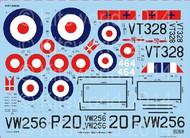 Kits-World  1/32 Gloster Meteor F Mk IV 263rd Sq., 207th Advanced Flying School RAF & 464th Royal Danish Naval Air Service for HKM (D)<!-- _Disc_ --> WBS132068