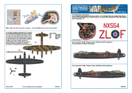 Avro Lancaster Bomber 'B' Designed for the HK Model Kit #WBS132135