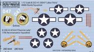 B-25D Labor Pains 498th BS, Charmin Lacy 17th Recon Sq. #WBS172191