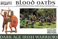 Blood Oaths Dark Age Irish Warriors w/Weapons (40) #WAAB1