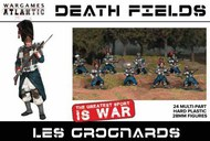 Death Fields Les Grognards w/Weapons (24) #WAADF2