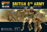 WWII British 8th Army Commonwealth Infantry Western Desert (30) (Plastic) #WRL11015