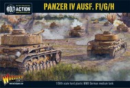 Warlord Games  28mm Bolt Action: WWII Panzer IV Ausf F1/G/H German Medium Tank (Plastic) WRL12010