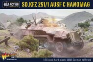 Warlord Games  28mm WWII Sd.Kfz. 251/1 Ausf C Hanomag German Halftrack (Plastic) WRL12025
