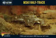 Warlord Games  28mm Bolt Action: WWII M3A1 US Halftrack (Plastic) WRL13010