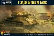 Warlord Games  28mm Bolt Action: WWII T34/85 Soviet Medium Tank (Plastic) WRL14004