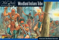 Warlord Games  28mm Black Powder: Woodland Indians Tribe 1776-1783 (24) (Plastic) WRL15501