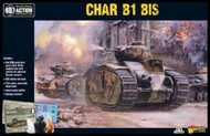 Warlord Games  28mm Char B1bis French Medium Tank (Plastic) WRL15502