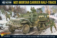 Warlord Games  28mm Bolt Action: WWII M21 Mortar Carrier US Halftrack (Plastic w/Resin & Metal Parts) WRLAI507
