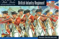 Warlord Games  28mm Black Powder: British Infantry Regiment 1776-1783 (30) (Plastic) WRLAWI01